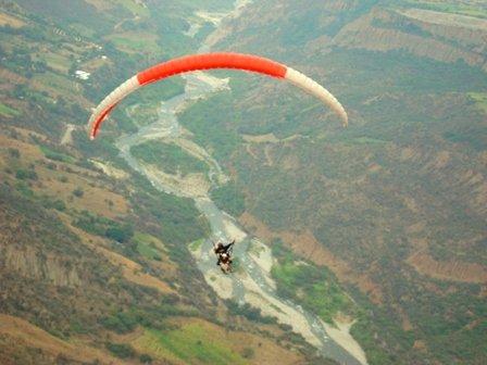 Volando sobre el Río Chama