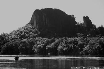 Piedra del Culimacare, paisaje remoto