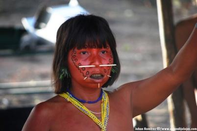 Escultura Yanomami