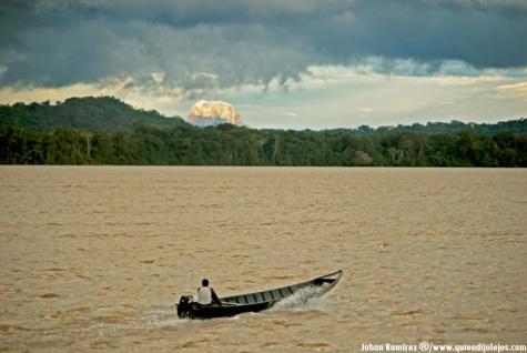 Navegación del Orinoco y Cerro Autana.