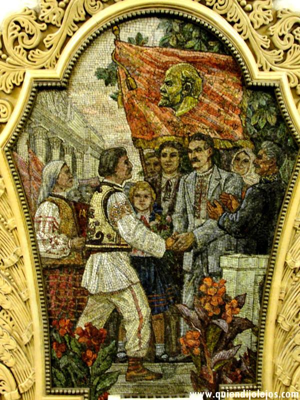De nuevo el rostro de Lenin