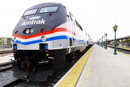A bordo de estos trenes viajarán gratis los escritores (Foto Amtrak)