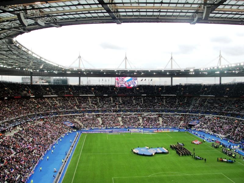 Desde antes de iniciar el partido el estadio estaba completamente lleno