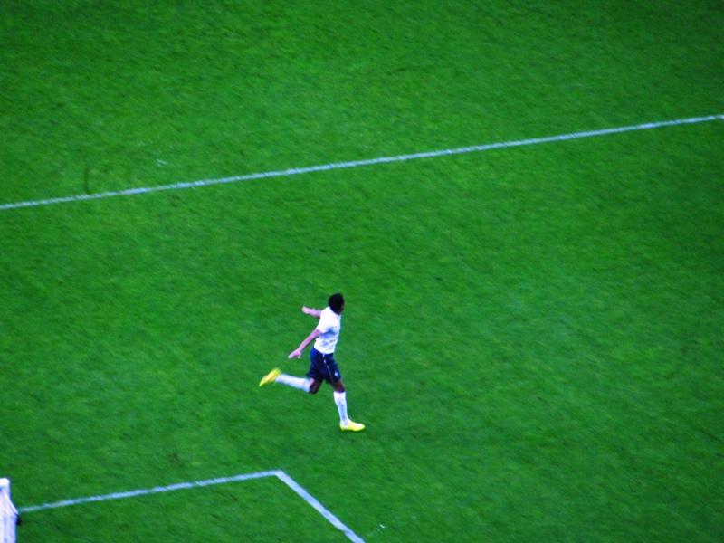 Francia celebra su tercer gol