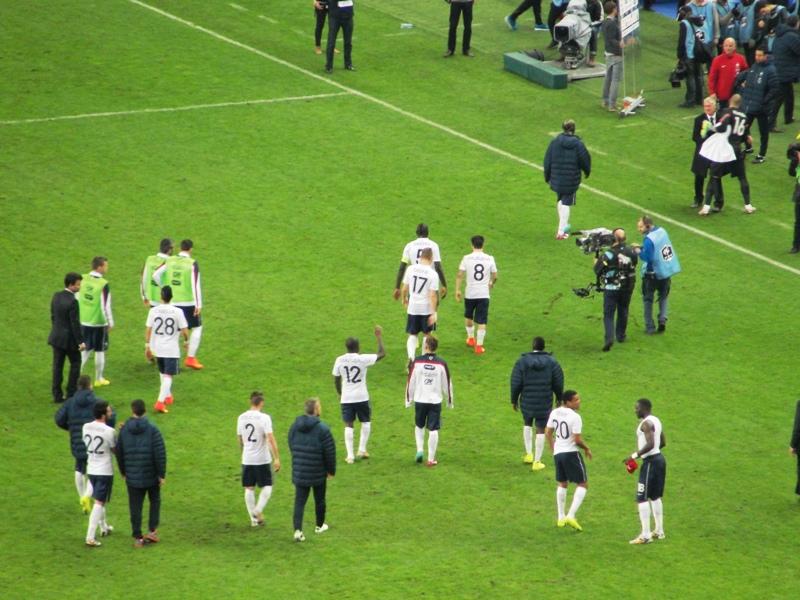 Así se marchó la selección de Francia, rumbo a Brasil 2014, con la esperanza de volver con la Copa
