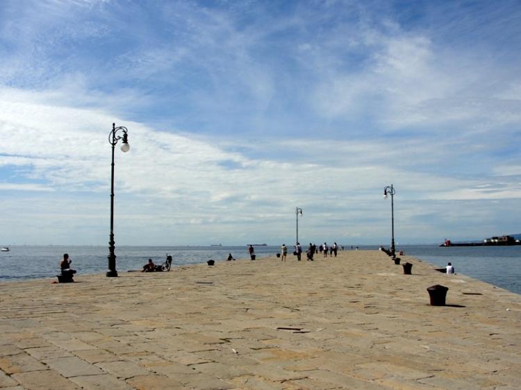 La ciudad se refresca con los vientos que vienen del mar