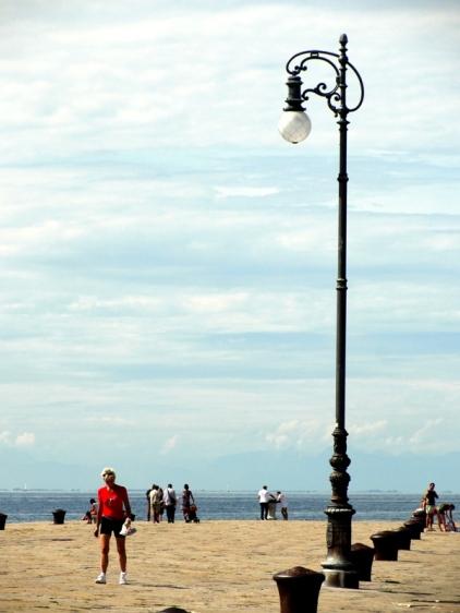 El puerto a orillas del Mar Adriático