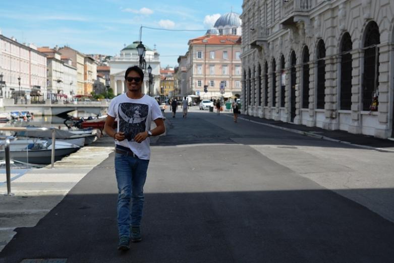 El puerto de Trieste es uno de los paseos imperdibles (Foto Nelvino Lima)