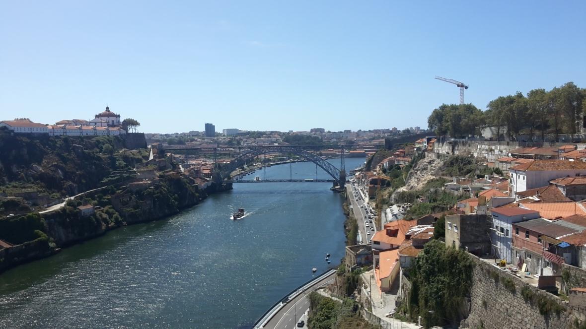 El Douro que atraviesa Oporto