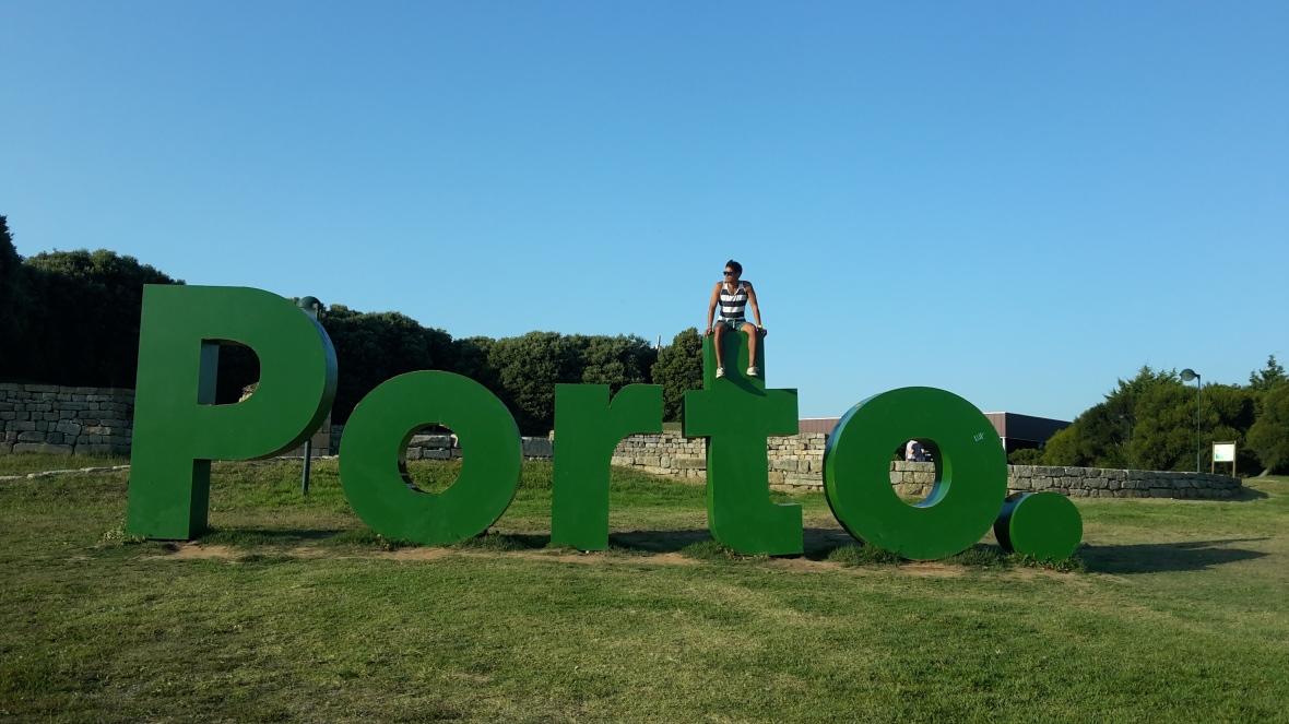 En el Parque da Cidade, en Oporto
