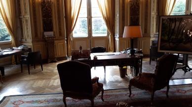 El despacho del ministro de relaciones exteriores