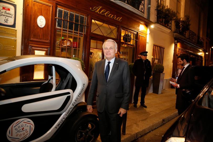 Durante toda la noche nos acompañaba agentes de seguridad y fotógrafos (Foto: cortesía Goût de France)