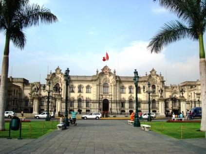 La Casa de Gobierno, en Lima (Foto: Johan Ramírez)