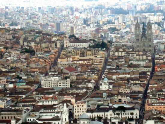 Vista de Quito desde el Panecillo (Foto: Johan Ramírez)