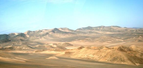 A la mañana siguiente, el desierto (Foto: Johan Ramírez)