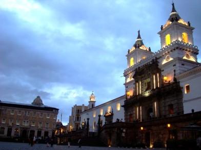 El centro histórico de Quito es uno de los más grandes de Suramérica (Foto: Johan Ramírez)
