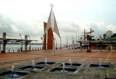 El malecón de Guayaquil (Foto: Johan Ramírez)