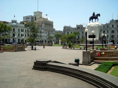 El centro de la capital peruana (Foto: Johan Ramírez)