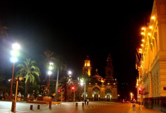 Santiago de noche (Foto: Johan Ramírez)
