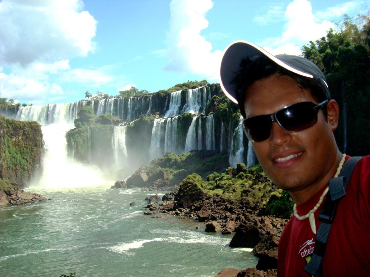 Johan en Iguazú. JOHAN RAMÍREZ