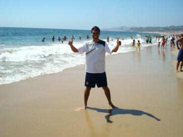 En las playas de Valparaíso