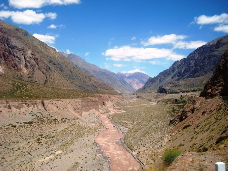Cordillera Andina. JOHAN RAMÍREZ