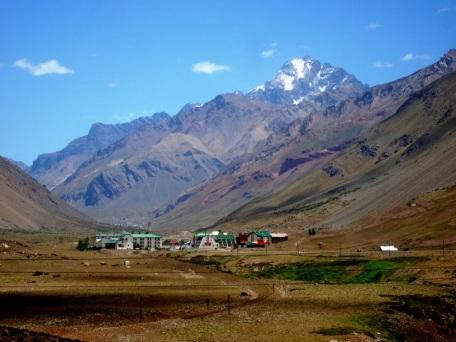Cordillera Andina y Aconcagua. JOHAN RAMÍREZ
