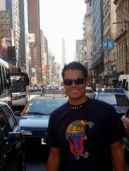 Johan en Buenos Aires