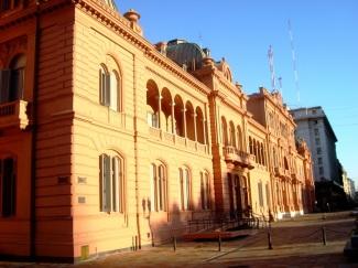 La Casa Rosada, Buenos Aires. JOHAN RAMÍREZ