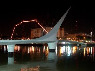 Puente de la Mujer, Puerto Madero, Buenos Aires 2. JOHAN RAMÍREZ