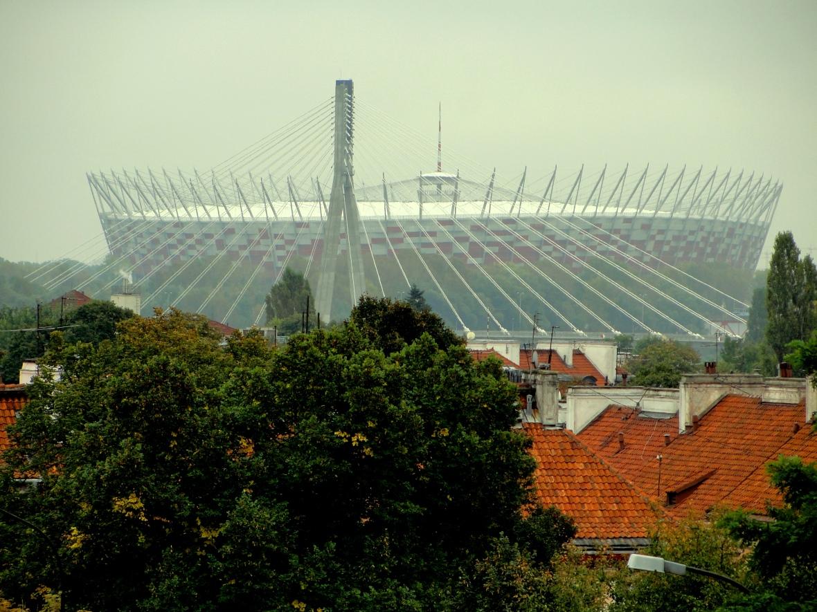 Estadio Narodowy, sede de la Eurocopa 2012. JOHAN RAMÍREZ